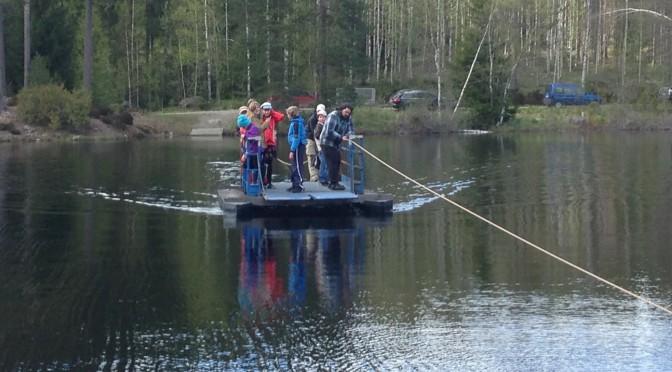 Scoutläger vid Falkalägret