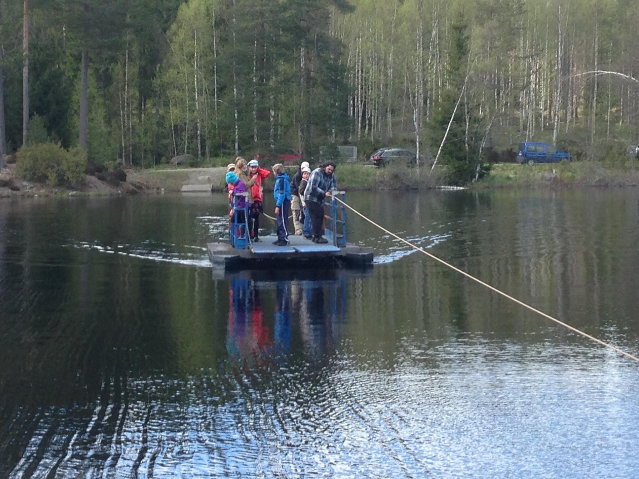 Hajken vid Falkalägret