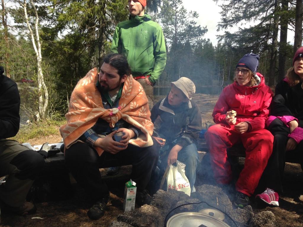 Lägerbål