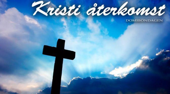Gudstjänst 24/11 Kl.11.00