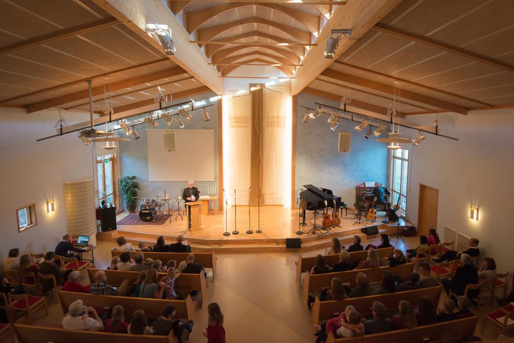 Lundhagskyrkan - Kyrksalen