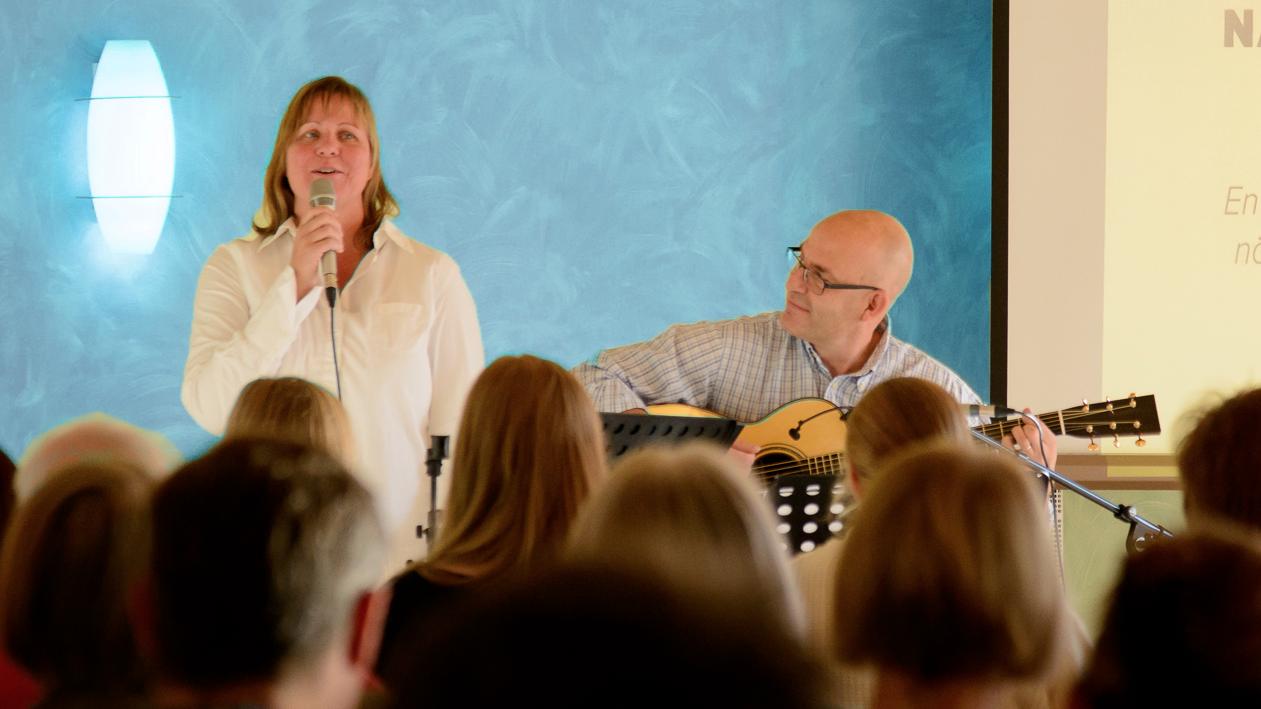 Musikcafé i Lundhagskyrkan