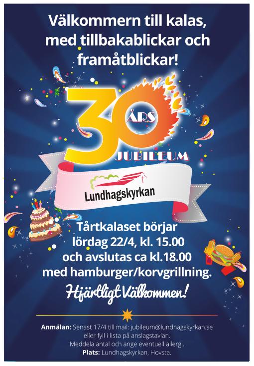 Hovsta Frikyrkoförsamling 30 år