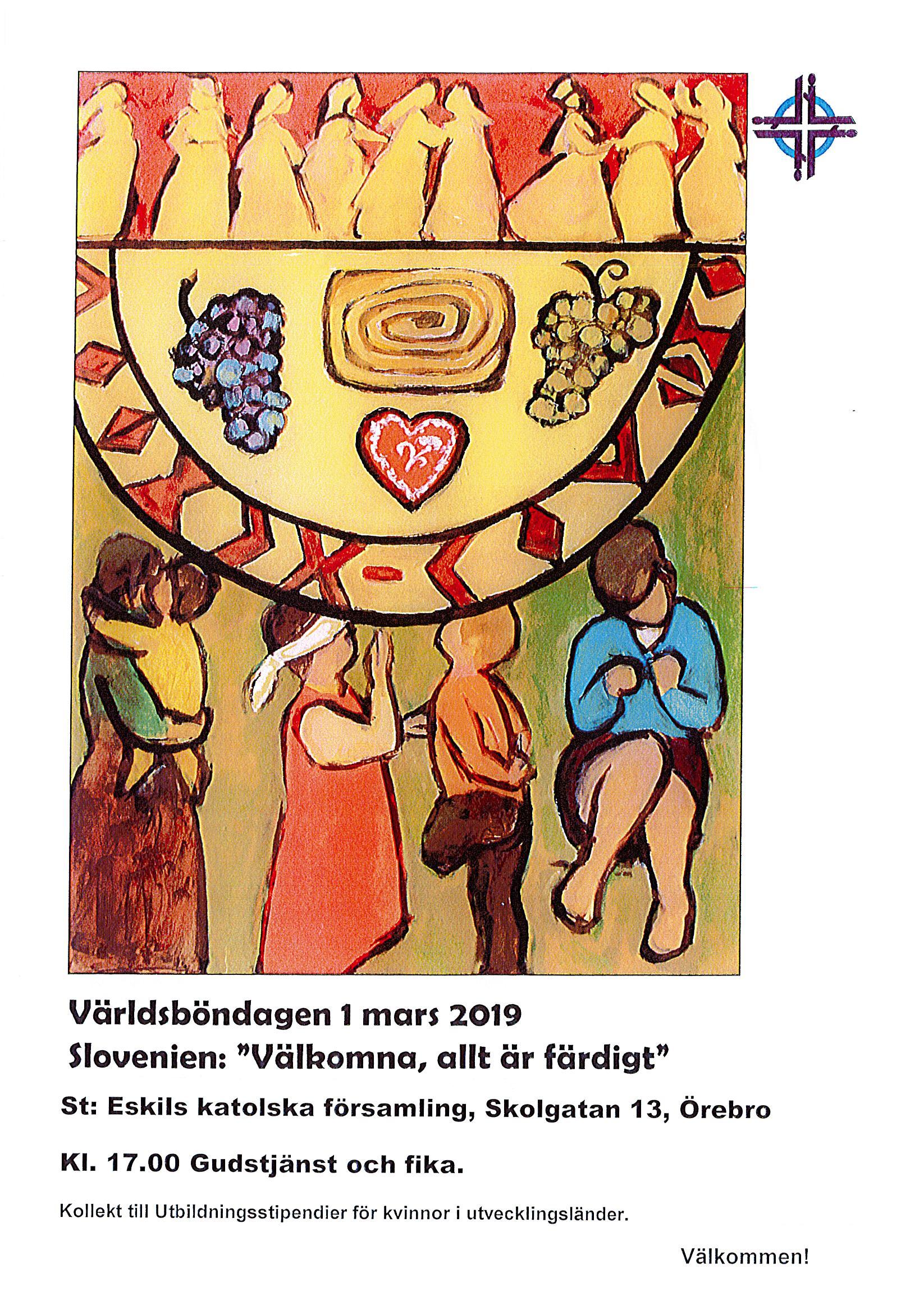 Världsböndagen 1 mars 2019