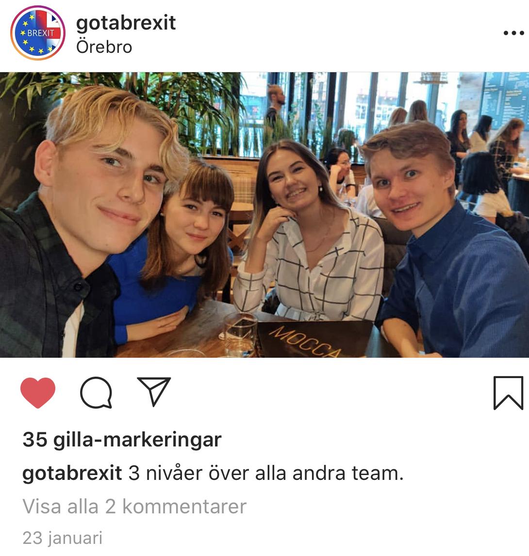 Kyrkans ungdomar på Instagram