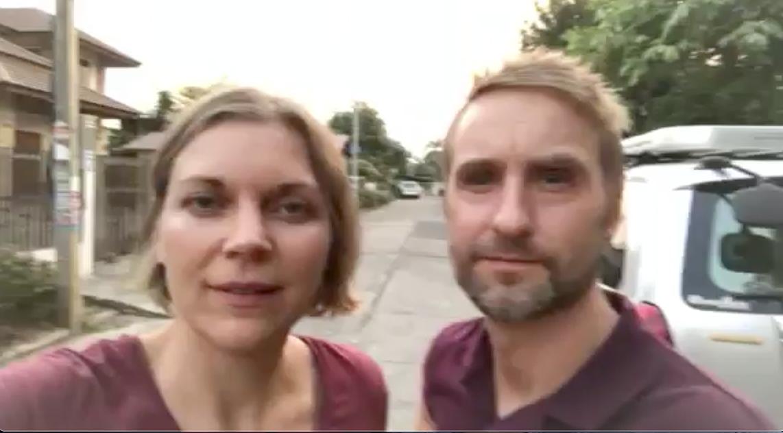 Videohälsning från Åbergs i Thailand