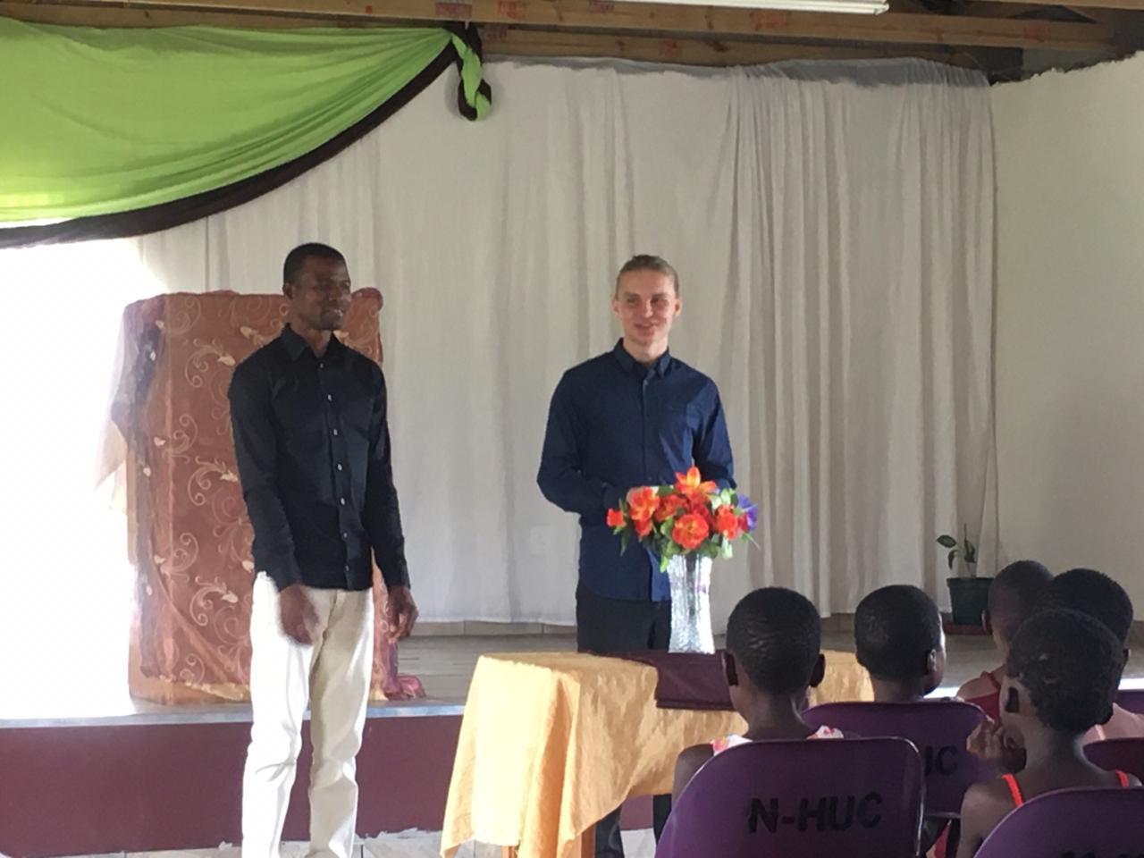 Simon Andersson i Eswatini